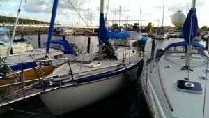 She's almost sailable.. (I guarantee that sailable is a word..)
