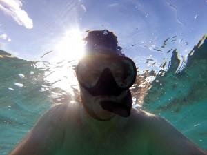 Underwater selfie...